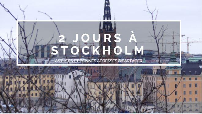 voyage stockholm