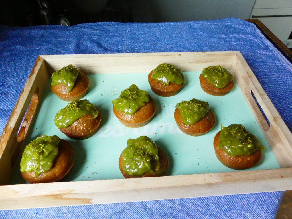 cupcakes vegan avocat citron vert