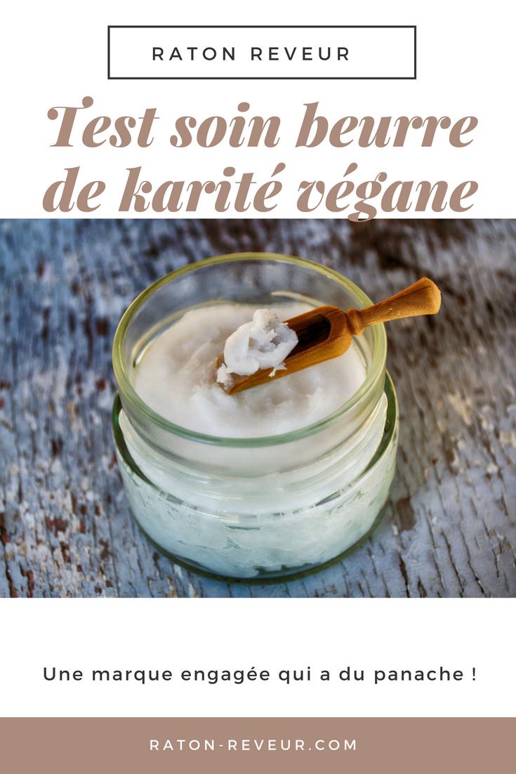 soin hydratant naturel vegan peau noire beurre karité test marque tradition & co blog raton reveur