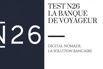 banque voyage N26 digital nomade test avis raton reveur blog