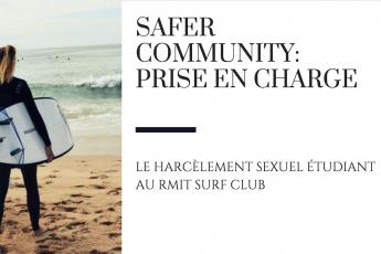 safer community rmit surf club harcèlement sexuel